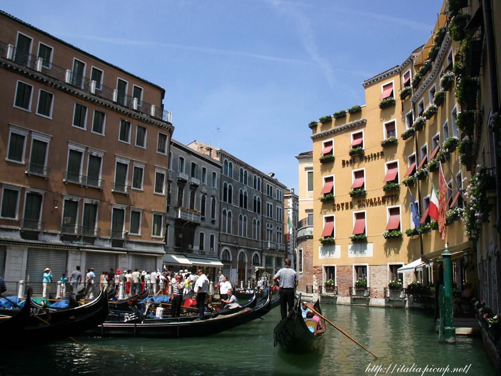 ヴェネツィアの運河2