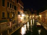 ヴェネツィアの夜景(ワイド有)