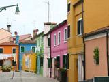 ブラーノ島の街並