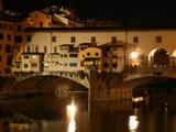 ヴェッキオ橋夜景1