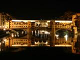 ヴェッキオ橋夜景2
