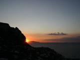 カプリ島の夕焼け1