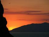 カプリ島の夕焼け2
