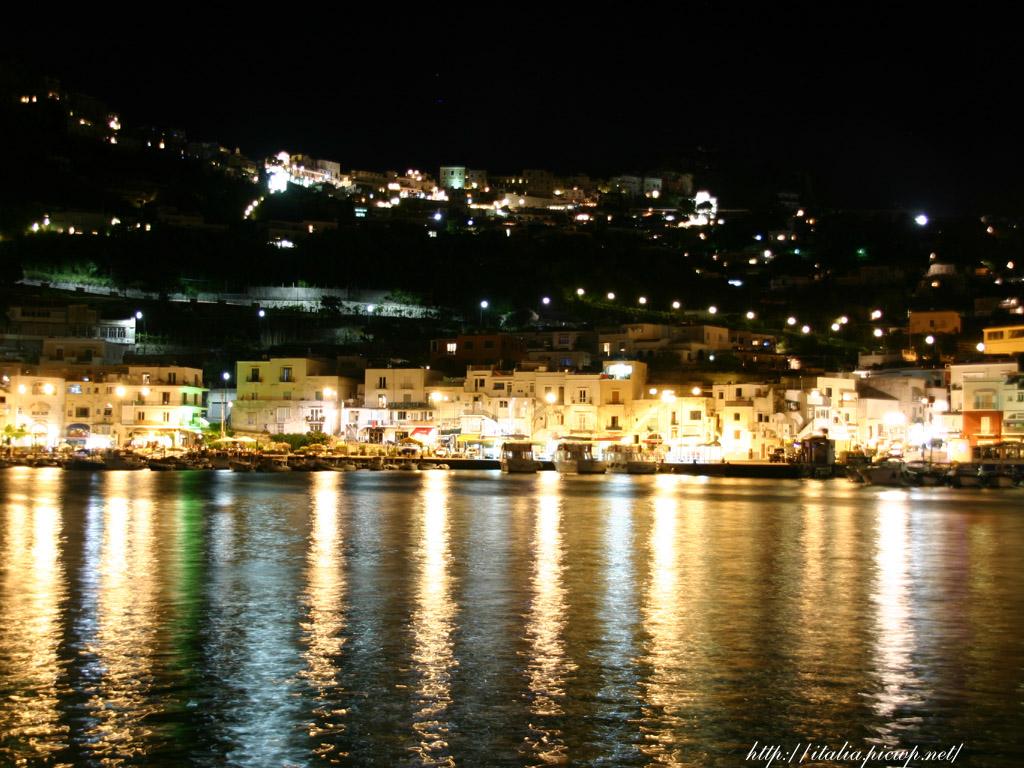 カプリ島の夜景1