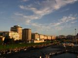 パレルモ港の朝