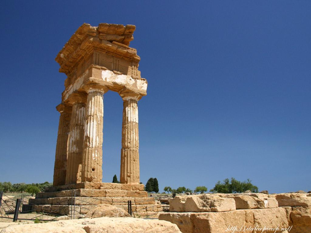 ディオスクロイ神殿2