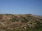 神殿の谷の景色