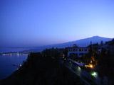 エトナ山の夜景
