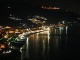タオルミーナ海岸の夜景1
